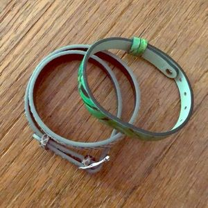 2 Keep Collective Leather Charm Bracelets